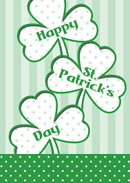 St Patricks Day Printed Cards 3
