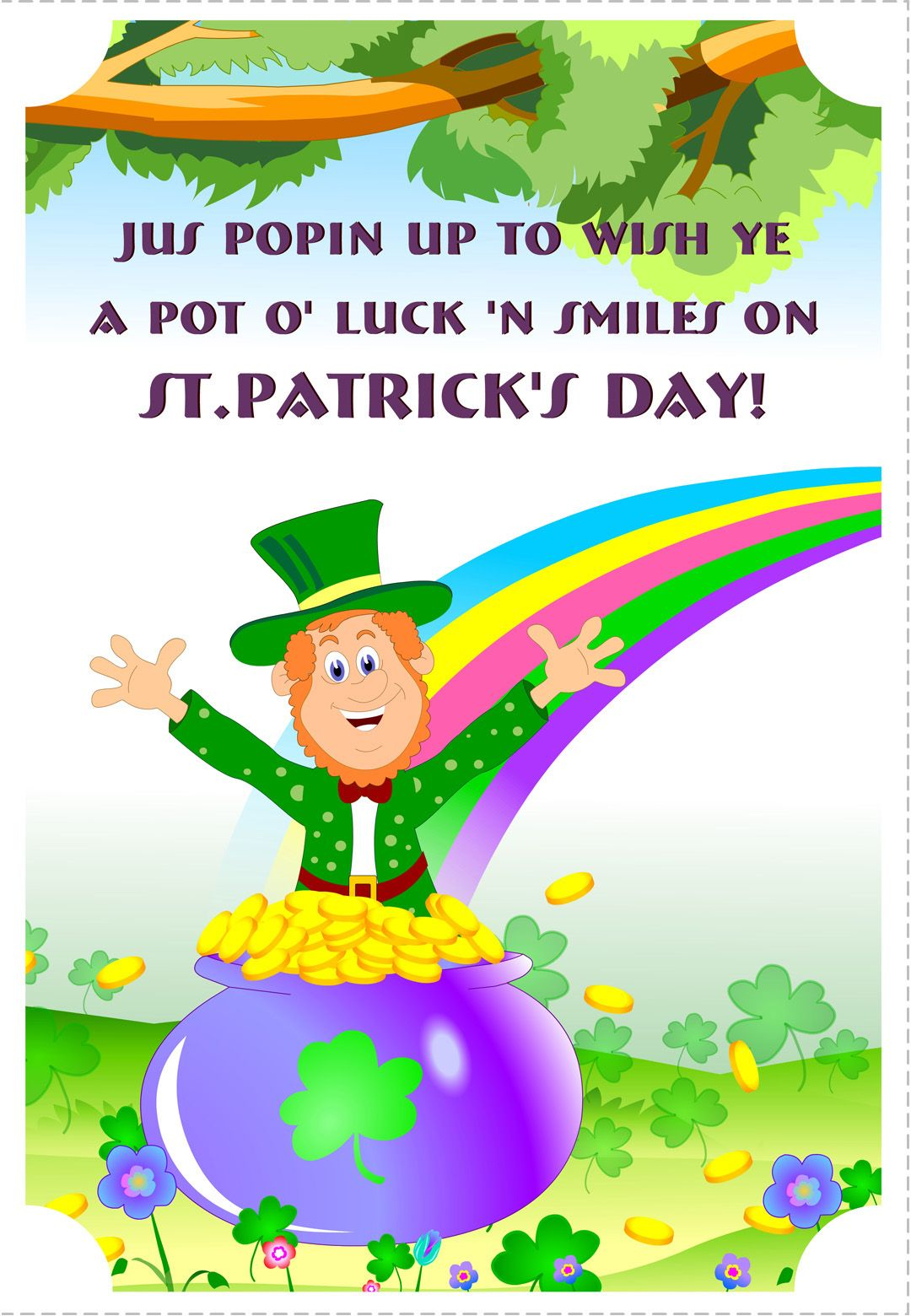 St Patricks Day Printed Cards 6
