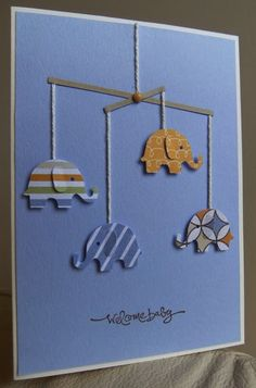Baby Shower Card Ideas 1