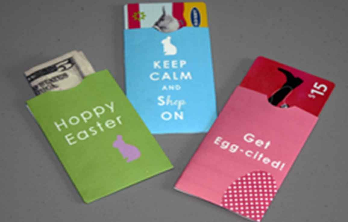 Easter Day Card Holders 1