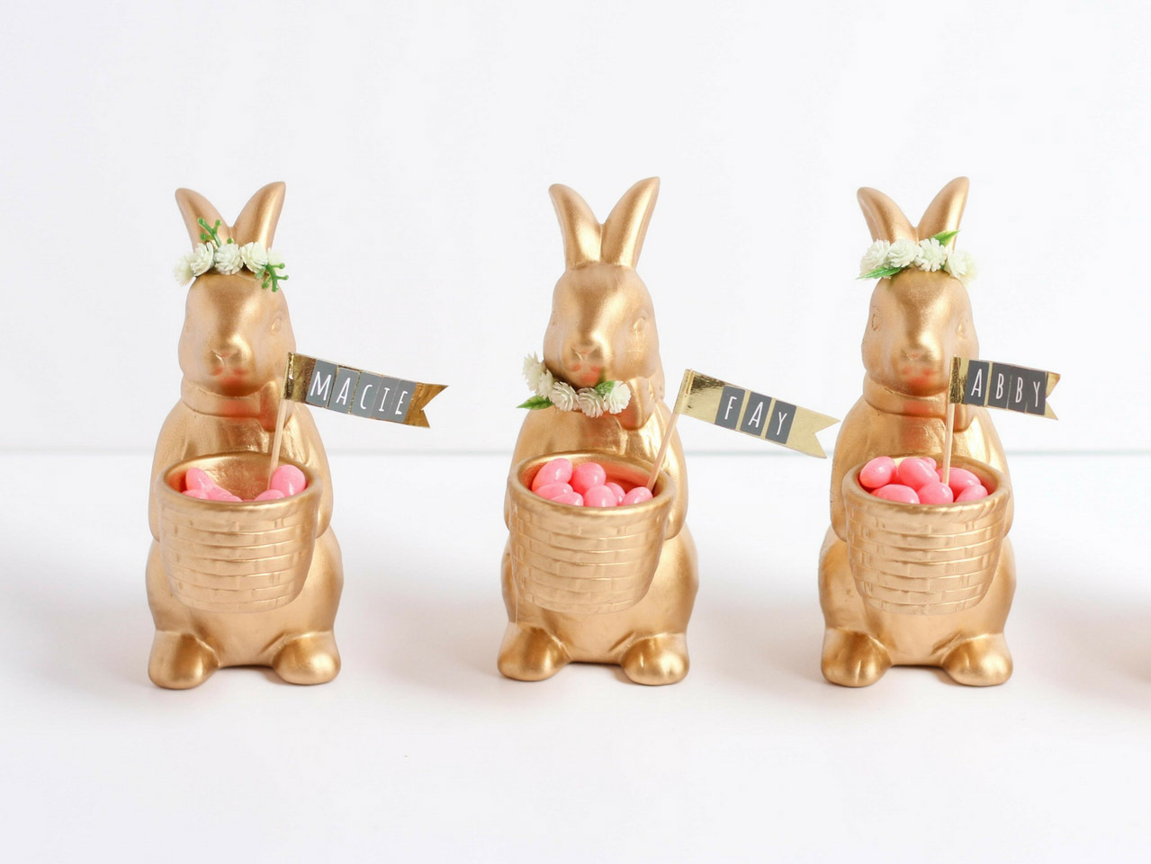 Handmade Easter Place Card Holders 3