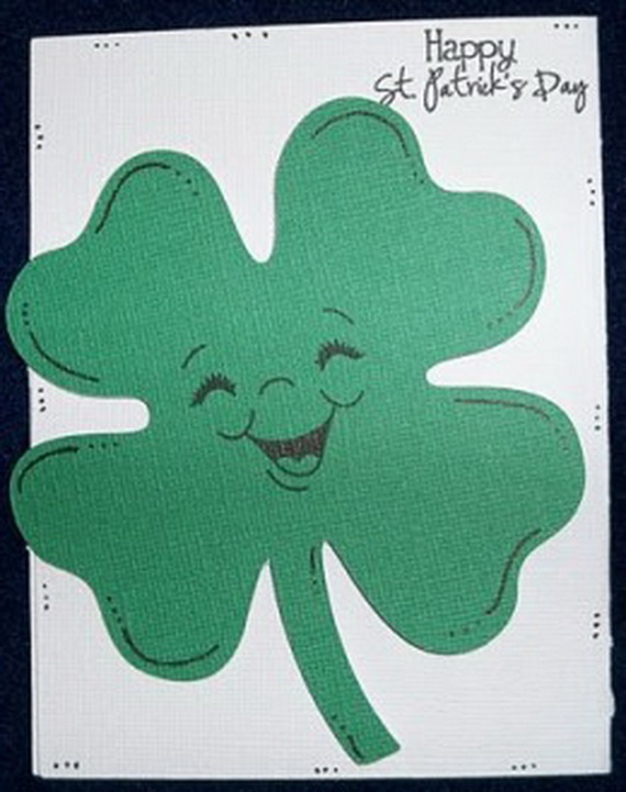 Handmade Personalized St Patrick Card 10