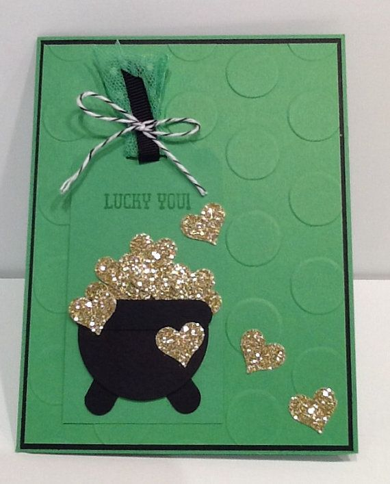 Handmade Personalized St Patrick Card 2