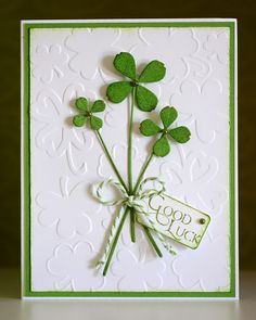 Handmade Personalized St Patrick Card 3
