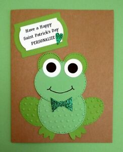 Handmade Personalized St Patrick Card 4