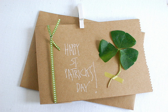 Handmade Personalized St Patrick Card 5