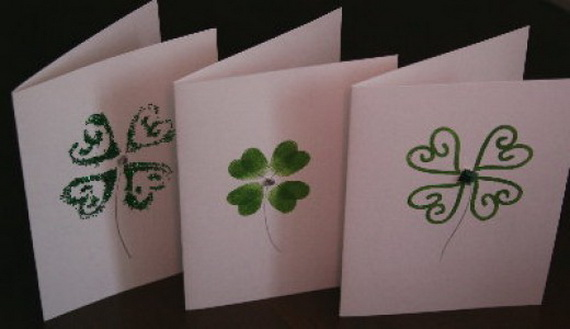Handmade Personalized St Patrick Card 7