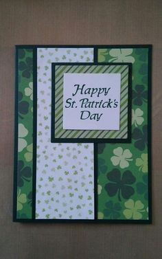 Handmade Personalized St Patrick Card 8