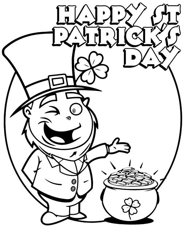 Printed Saint Patricks Day Cards 3