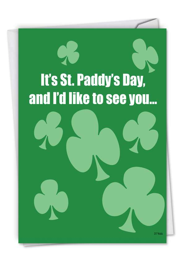 Printed Saint Patricks Day Cards 5