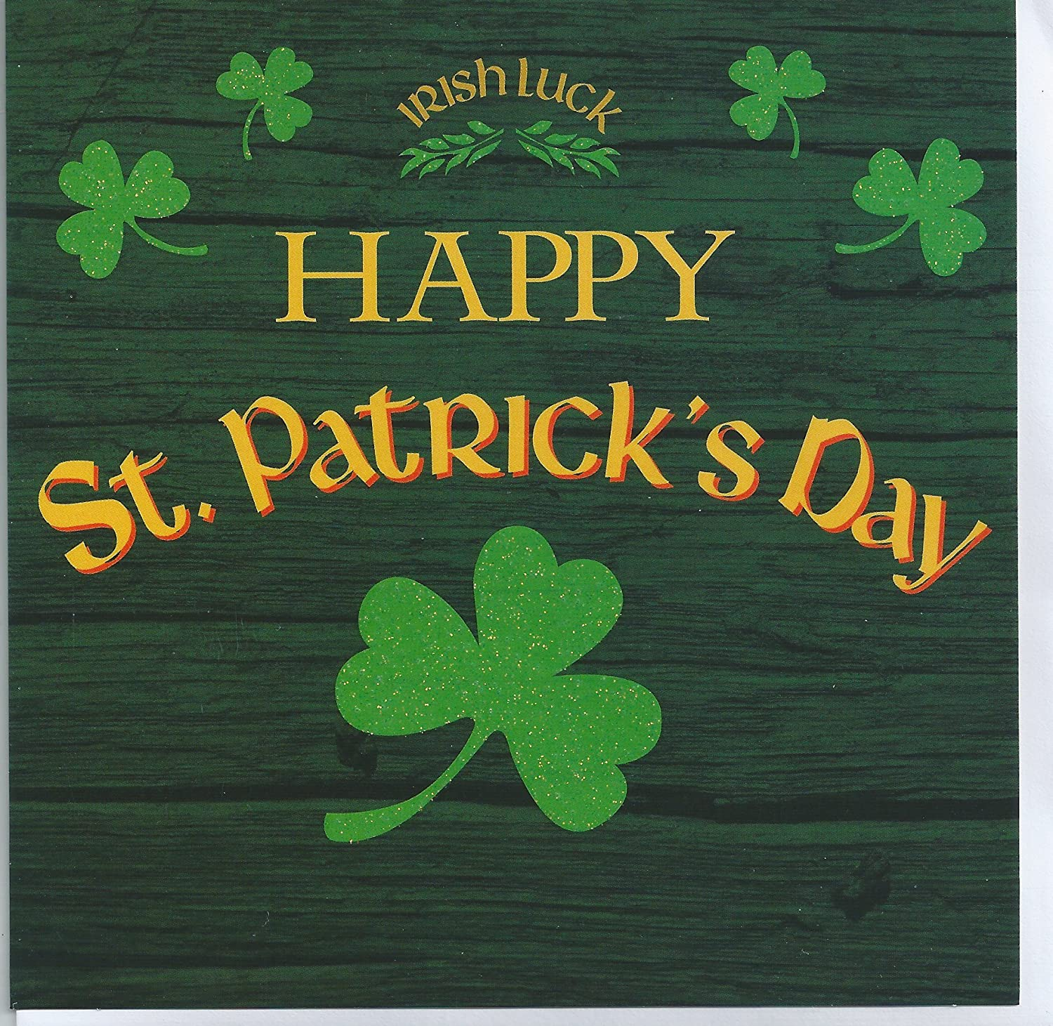 Printed Saint Patricks Day Cards 6