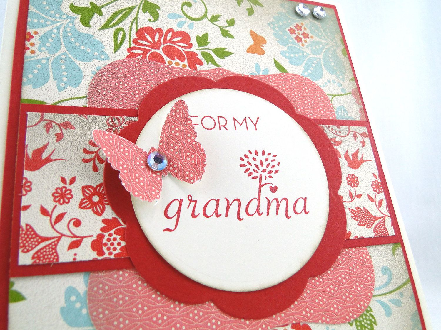 Why I Must Make a Handmade Card For My Granny
