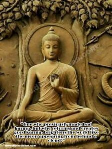 Budha Karma quote picture