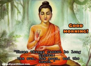 Budha good morning quote picture