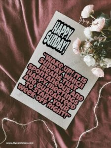 Happy Sunday Quotes For Him