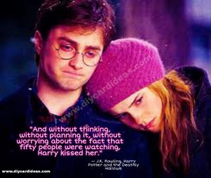 Harry Potter Quote Love