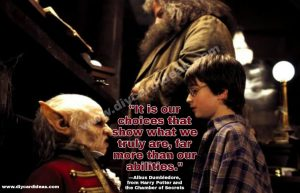 Harry Potter quote about life
