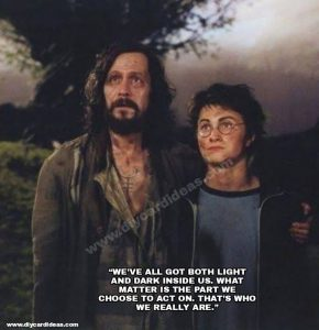 Harry Potter quote about sirius black