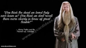 Harry Potter quotes about Dumbledore
