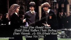 Harry Potter quotes about friendships