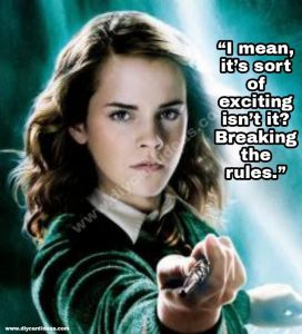 Harry Potter quotes about hermione