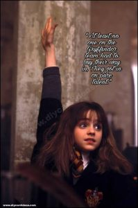 Harry Potter quotes about hermione granger