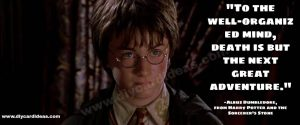 Harry Potter quotes about life