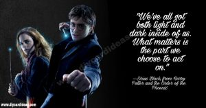 Harry Potter quotes for life