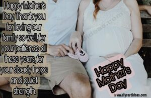 Mother day quote for wife
