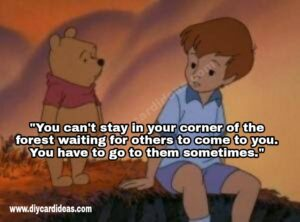 Winnie The Pooh about giving picturesWinnie The Pooh about giving pictures