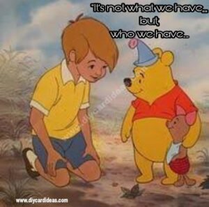 Winnie the pooh about hard time