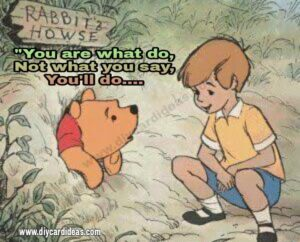 Winnie the pooh hard time quote