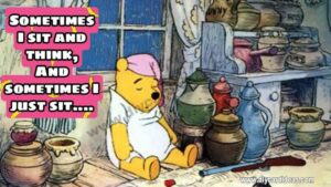 Winnie the pooh you are stronge