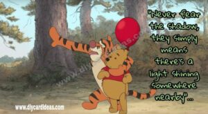 Winnie the pooh you are stronger