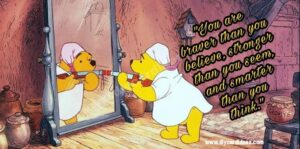 Winnie the pooh you are stronger Images