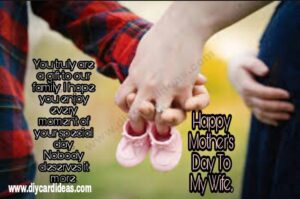hit mothers day quote for wife