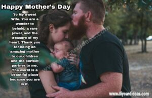 mothers day quote for wife