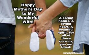 mothers day quote for wife mom