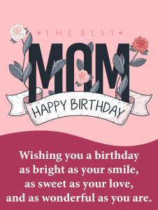 online card for mom