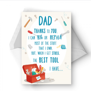 printable father day card